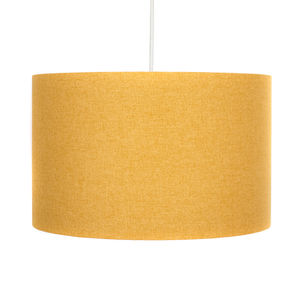Handmade Yellow Lamp Shade - office & study