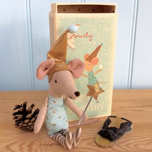 Personalised Tooth Fairy Matchbox Mouse