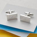 Personalised Engraved Infinity Cufflinks