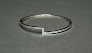 Joined Bangle - contemporary jewellery