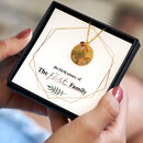 Personalised Family Birthstone Necklace