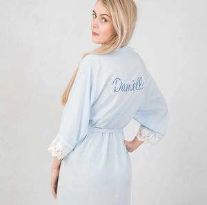 Lacie Personalised Wedding Robe