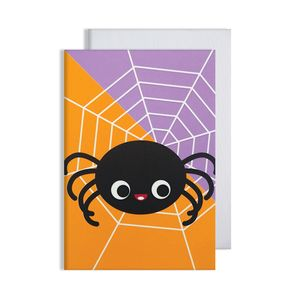 Halloween Spider Glow In The Dark Card