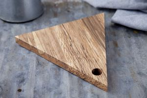 Beech Triangle Serving Board - kitchen