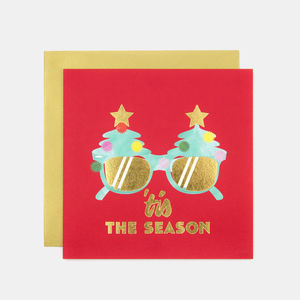 'Tis The Season Christmas Greeting Card - cards