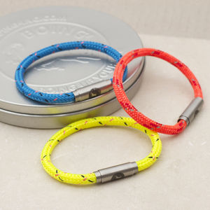Neon And Bright Personalised Boing Bands - men's jewellery