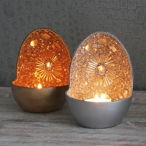 Beaded Tealight Votive - dining room