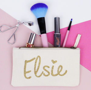 Personalised Makeup Bag - make-up & wash bags