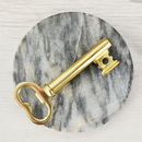 Gold Key Bottle Opener And Corkscrew