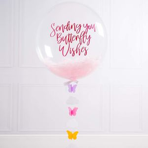 Bespoke Butterfly Confetti Filled Balloon - decoration
