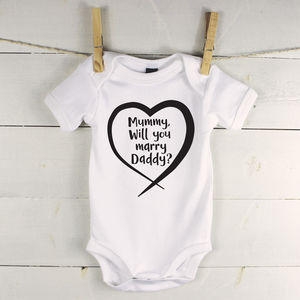 Peronalised Proposal Babygrow - proposal ideas
