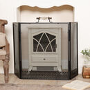 Antique Style Ornate Fire Screen