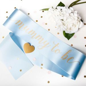 Mummy To Be Baby Shower Sash - baby shower gifts