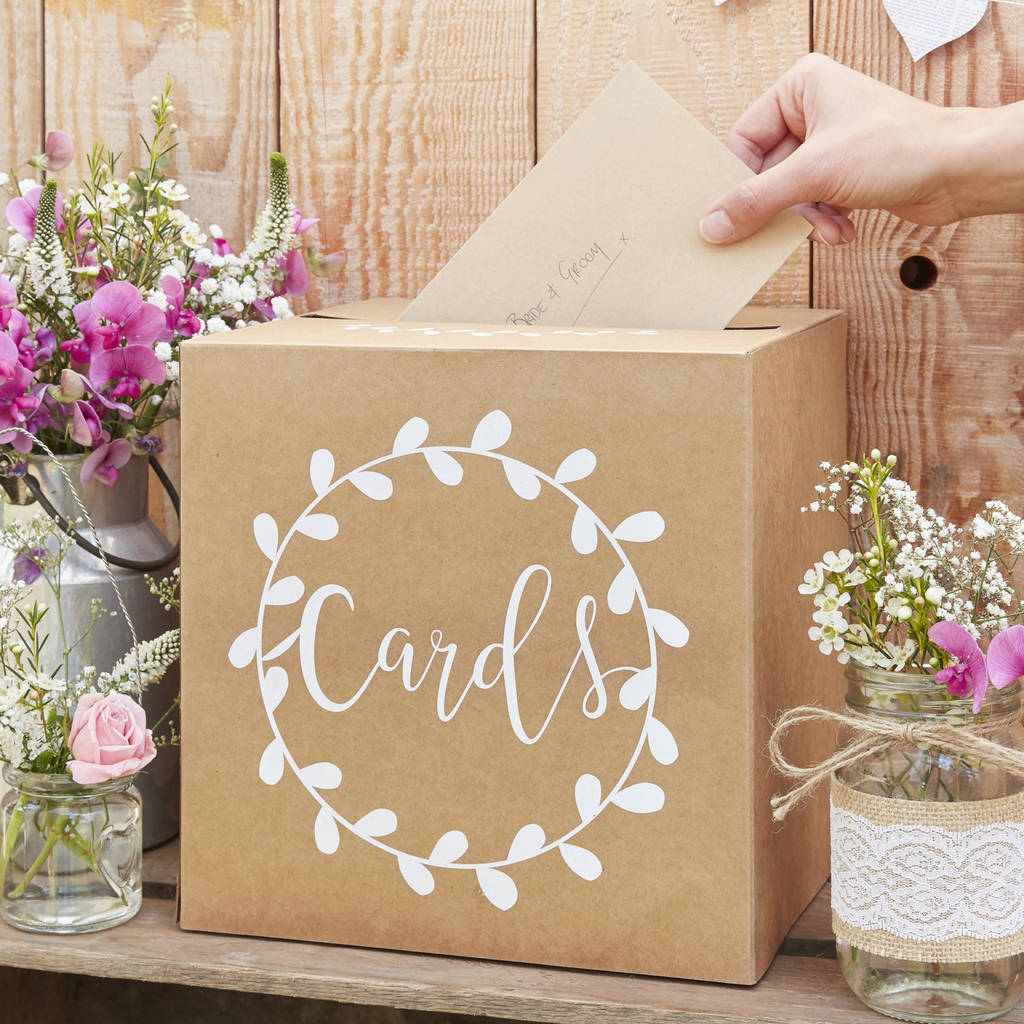 Wedding Post And Card Boxes Notonthehighstreet Com