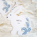 Bunny Shaped Notecards