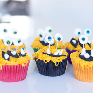 Baking Kit | Vanilla Little Monster Cupcakes - baking kits