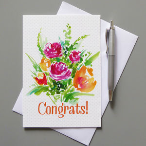 Congrats Greeting Card - congratulations cards