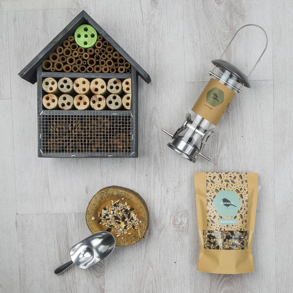 Insect And Bird Seed Gift Box