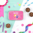 Personalised Pony Party Keepsake Tin