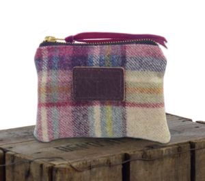 Personalised Tartan Coin Purse