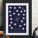 Personalised Star Constellation Teacher Print