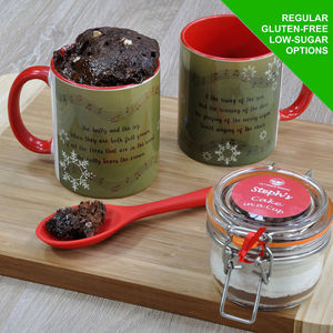 The Holly And The Ivy Cake In A Cup Kit - children's cooking