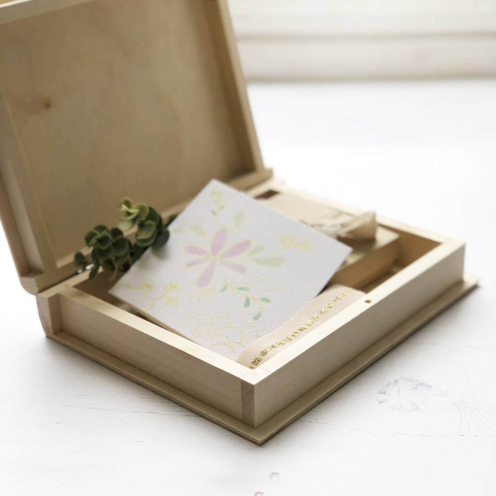 Wedding Card And Keepsake Box By Modo Creative Notonthehighstreet Com