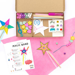 Personalised Become A Fairy Craft Kit Activity Box - toys & games