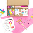 Personalised Become A Fairy Craft Kit Activity Box