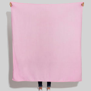 Powder Pink Scarf Blanket - blankets, comforters & throws