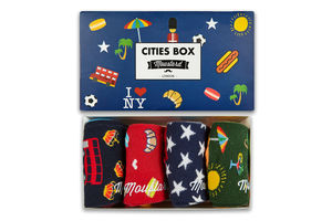 Men's City Socks Gift Box
