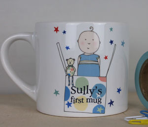 Personalised Gift Mug For Young Boy Or Girl - kitchen
