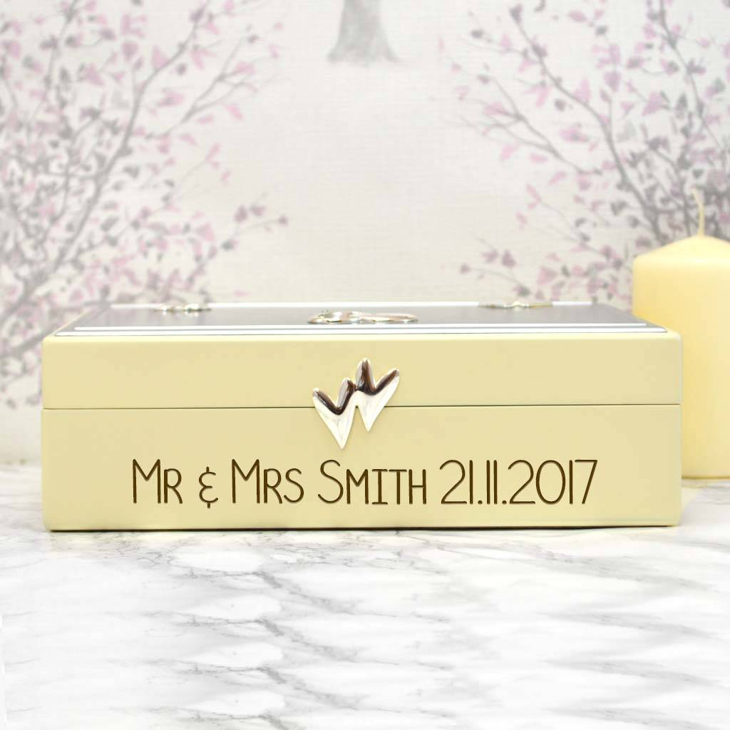 Keepsake Wedding Gifts: Personalised Wedding Keepsake Gift Box By Giftsonline4u