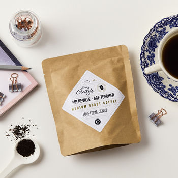 Personalised Coffee Teacher Gift