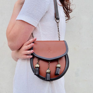 Chestnut Tan Leather Bag