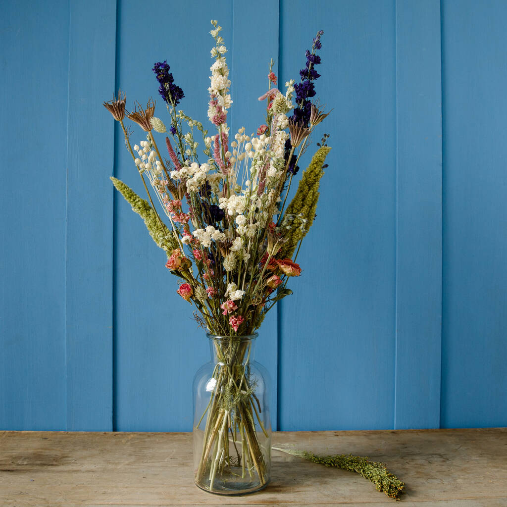 Dried Flower Bouquet By Glenstocken Herb And Plant Co Notonthehighstreet Com