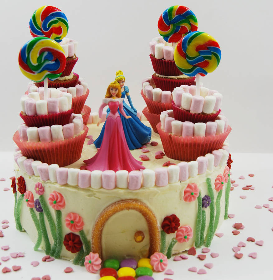 Princess Castle Birthday Cake Kit By Craft & Crumb