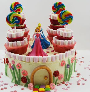 Princess Castle Birthday Cake Kit