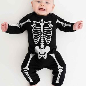Halloween Skeleton Babygrow