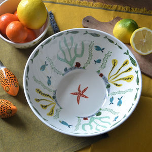 Fish Serving Bowl