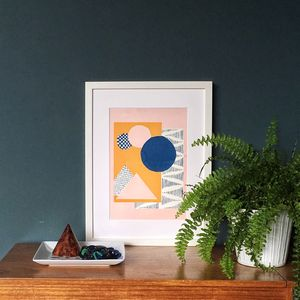 'Many Moons Ago' Original Screen Print - update your walls