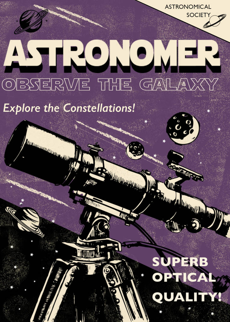 Astronomy Greetings Card