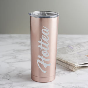'Hottea' Rose Gold Travel Cup