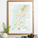 Map Of New York City Print