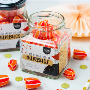 Alcoholic Blood Orange Liqueur Humbugs - wedding favours