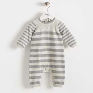 Snuggle Me 55% Cashmere Playsuit - gender neutral