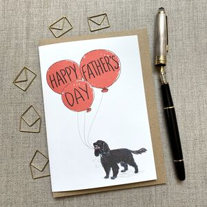 Father's Day Cocker Spaniel Card