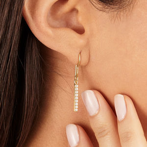 Diamond Style Drop Earrings - mother's day lust list