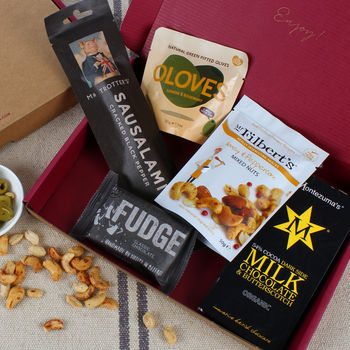 The Snack Pack Letterbox Gift Hamper
