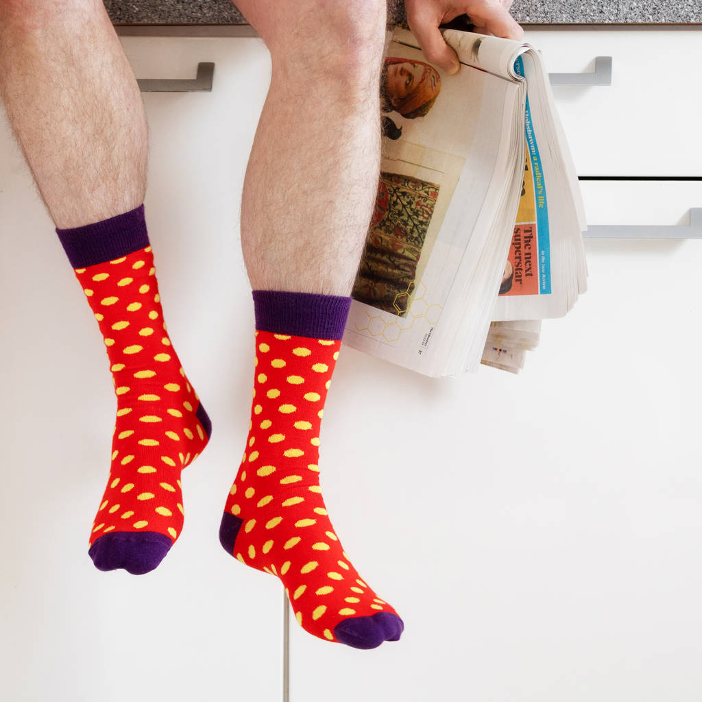 Monthly Sock Subscription By Henry J Socks | notonthehighstreet.com